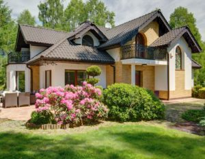 58219768 - luxurious house with garden in the suburbs